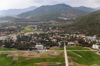 Пригороды Саньи перед посадкой в аэропорту Феникс