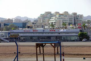 The terminal of the Eilat airport