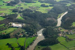 Ave River in the vicinity of Porto