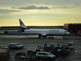 Боинг-737-800 авиакомпании SunExpress в аэропорту Франкфурт