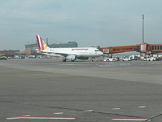 Germanwing Airbus A319 at Berlin Tegel airport