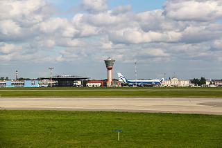 Диспетчерская вышка аэропорта Шереметьево