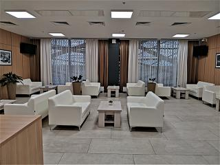 VIP lounge in the Terminal A of Saransk airport