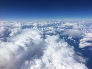 Clouds over the Bay of Biscay