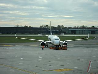 Boeing-737-800 Ryanair at the airport of Treviso