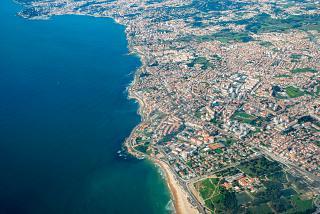 Coast near the city of Cascais