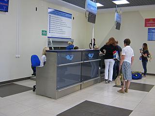 Стойки регистрации в аэропорту Калуга