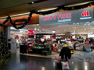 The Duty Free store in terminal 2 at Frankfurt airport