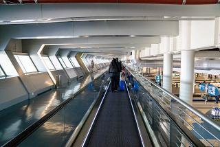 Arrivals Gallery at Porto Francisco Carneiro Airport