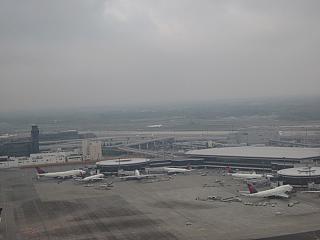 Вид сверху на аэропорт Токио Нарита