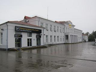 Терминал международных рейсов аэропорта Краснодар Пашковский