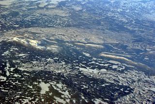 Плоскогорья на востоке Канады