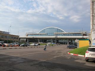 Terminal B of the airport Vnukovo