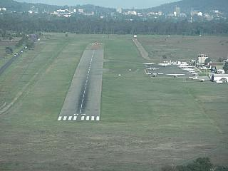 The runway and airport apron Arusha