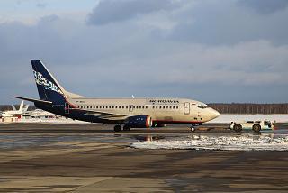 Боинг-737-500 VP-BKU авиакомпании