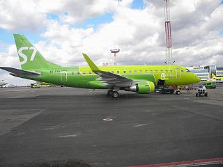 The Embraer 170 VQ-BYW S7 Airlines at Domodedovo airport