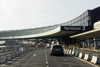 Terminal 3 of the airport Vienna Schwechat