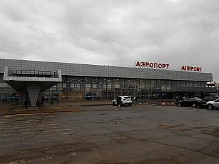 The terminal of the airport Volgograd Gumrak