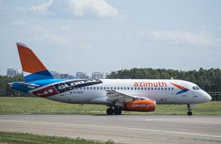 Сухой Суперджет-100 RA-89136 авиакомпании