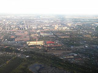 Industrial area of Novosibirsk
