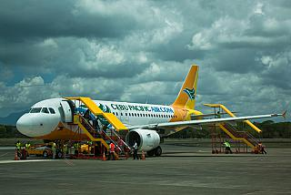 Airbus A319 of the airline Cebu Pacific Air