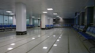 Накопитель в чистой зоне аэропорта Благовещенск Игнатьево