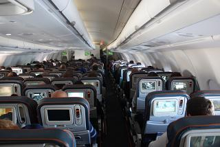 The cabin Airbus A330-300 Aeroflot