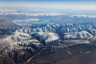 Over the Altai mountains