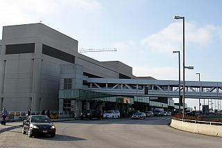 International airport terminal in Los Angeles