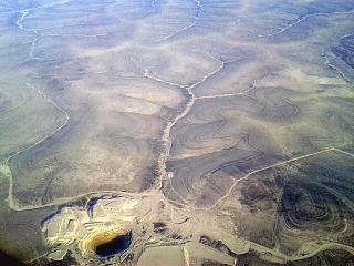 Quarry diamond mining in Yakutia