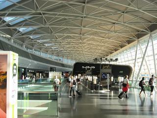 В чистой зоне аэропорта Цюрих
