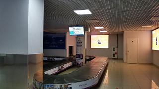 Зал выдачи багажа в аэропорту Воронеж Чертовицкое