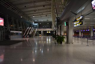 В пассажирском терминале аэропорта Львов имени Данила Галицкого