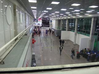 In the terminal building of the airport of Rostov-on-don