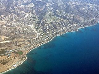 The coast of Cyprus