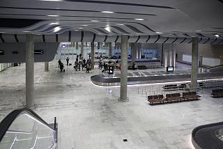 Зал получения багажа международных рейсов в новом терминале аэропорта Пулково