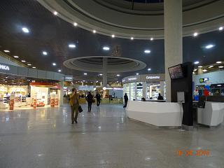 Shops in sector D Pulkovo airport