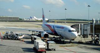 Boeing 737-800 Malaysia Airlines в аэропорту Куала-Лумпур