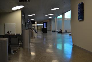Зал ожидания перед выходами на посадку в аэропорту Самара Курумоч