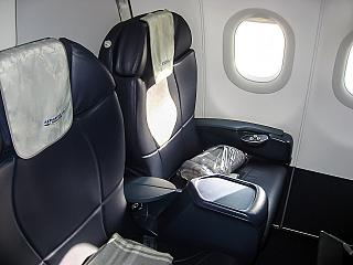 Seats in business-class Airbus A321 Aeroflot
