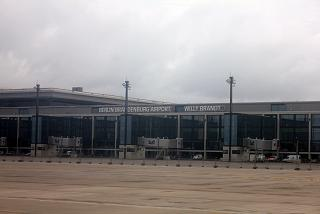 The passenger terminal of the airport Berlin Brandenburg