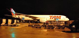 Airbus A350-900 PR-XTA авиакомпании LATAM Brasil в аэропорту Сан-Паулу Гуарулхос