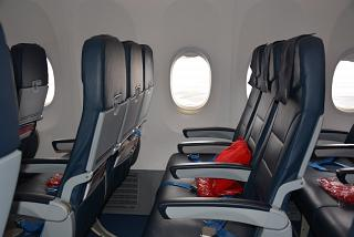 "The passenger seats in the Boeing-737-800 of airline ""Russia"""