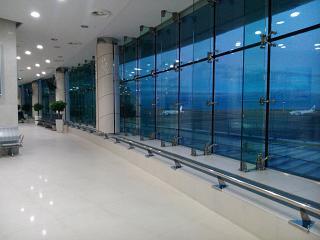 В чистой зоне вылета аэропорта Белгород