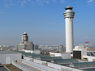 Диспетчерская вышка аэропорта Токио Ханеда