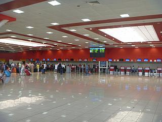 Зона регистрации пассажиров в терминале 3 аэропорта Гавана Хосе Марти