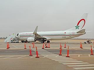 Боинг-737-800 CN-RGM авиакомпании Royal Air Maroc