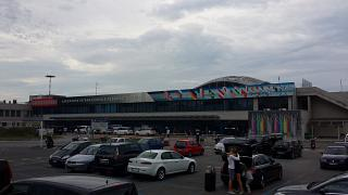 The terminal of the airport of Rimini Federico Fellini
