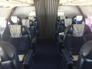 The business-class Airbus A321 Aeroflot