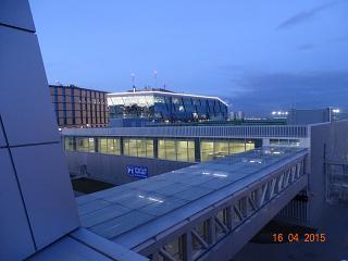 Крытая парковка в аэропорту Пулково